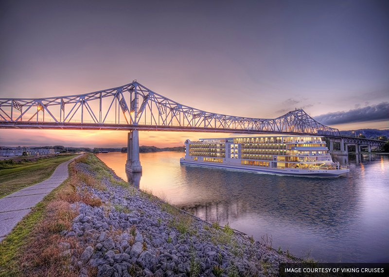 VIKING ANNOUNCES MISSISSIPPI RIVER CRUISES